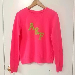 Abercrombie and Fitch Pink Sweatshirt